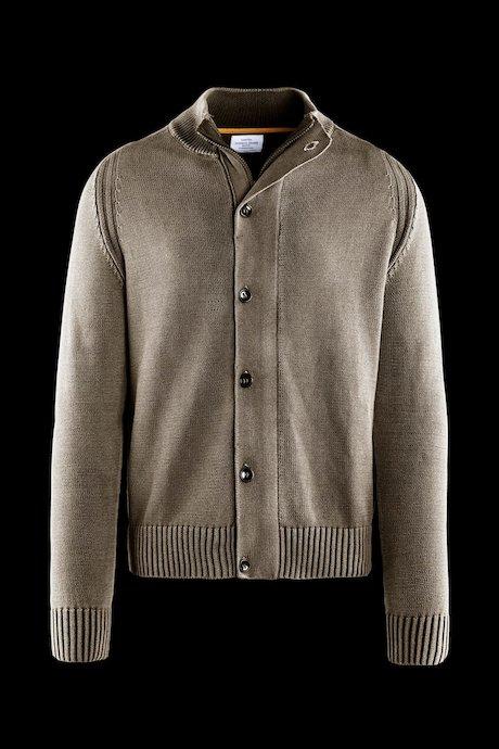 Cardigan de algodón con botones