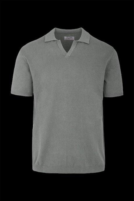 Pullover mit V-Ausschnitt und kurzen Ärmeln