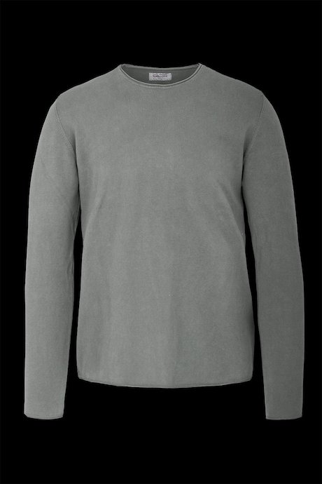 Round collar in cotton