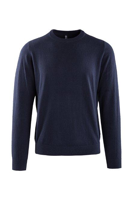 Mélange Trikot-Pullover