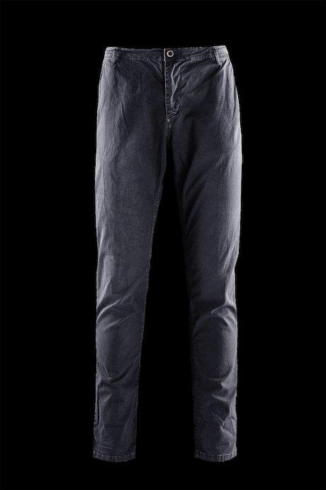 Pantaloni Tasche Chino con Microstampa