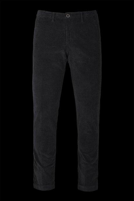 Velvet chino trousers