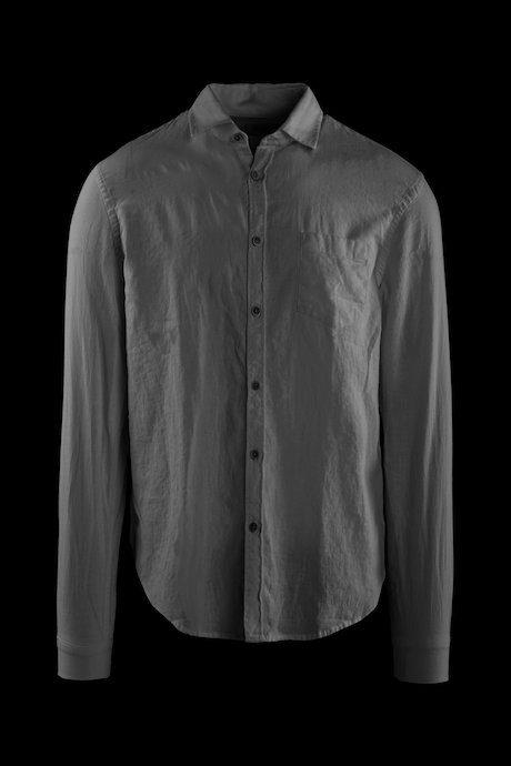 Shirt in linen-cotton