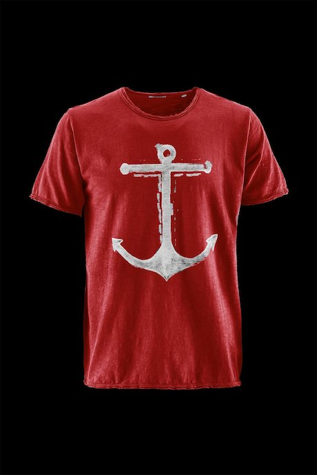 Man's T-shirt Anchor