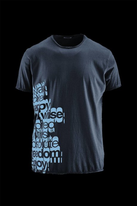 Man's T-shirt Lettering
