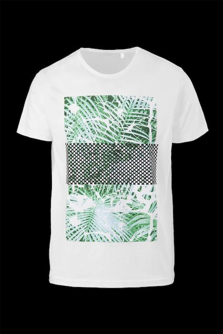 Cotton T-shirt Palme