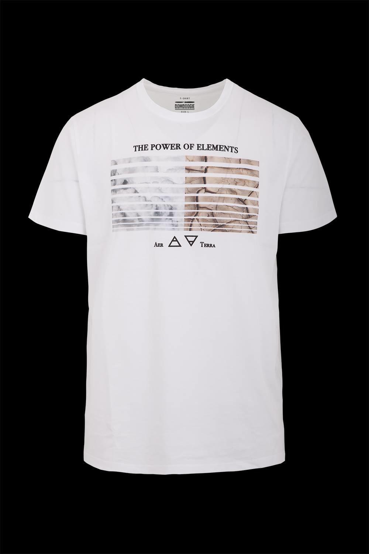 T-shirt Elements print