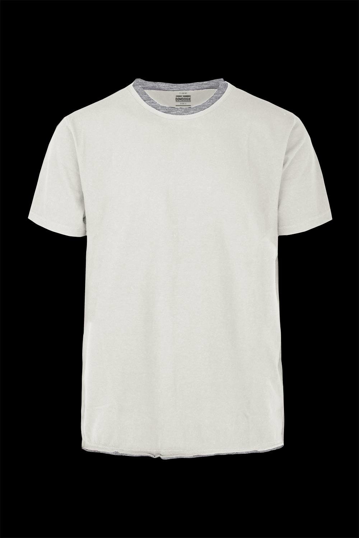T-shirt doubled effect