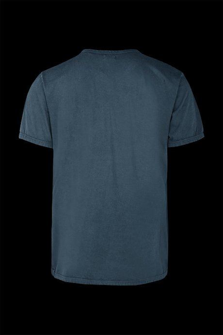 Basic T-shirt with pocket garment washed