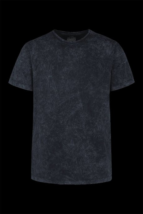 T-shirt marbled effect