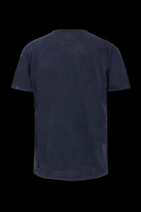 T-shirt Used Effect with buttons and pocket