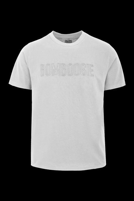 T-shirt with Bomboogie embroidery