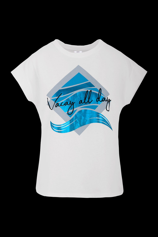 T-shirt Vacay All Day print