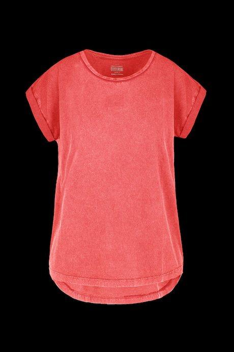 T-shirt Basica Lavata in Capo