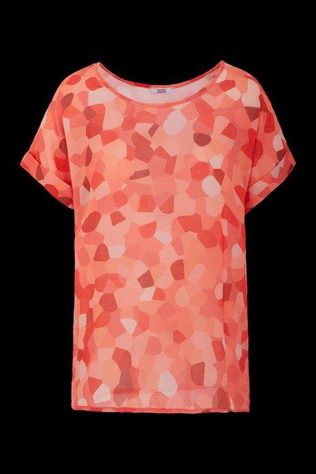Breites Camouflage T-Shirt