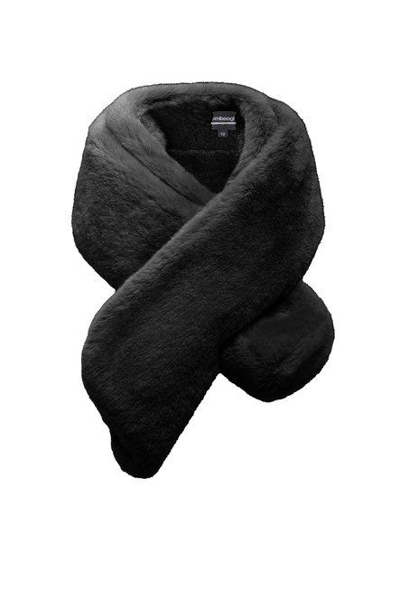 Weicher Schal aus Kunstpelz