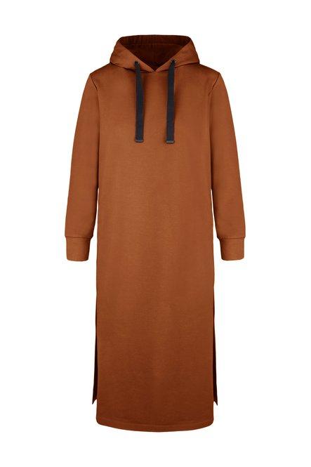 Dress in stretch cotton