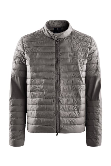 Bi material jacket synthetic filling