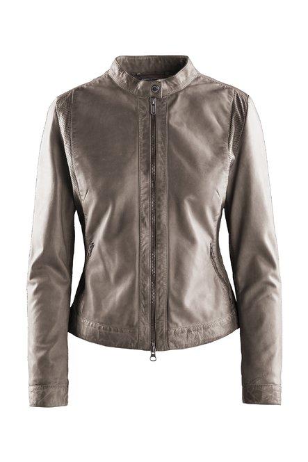 Raja leather jacket