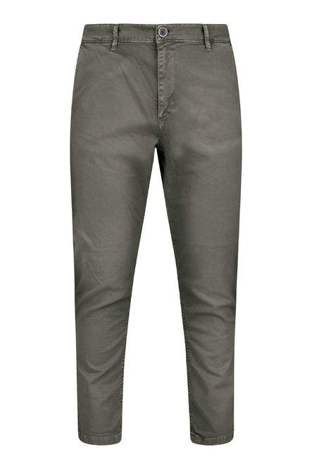 Pantaloni Spy in Twill di Cotone