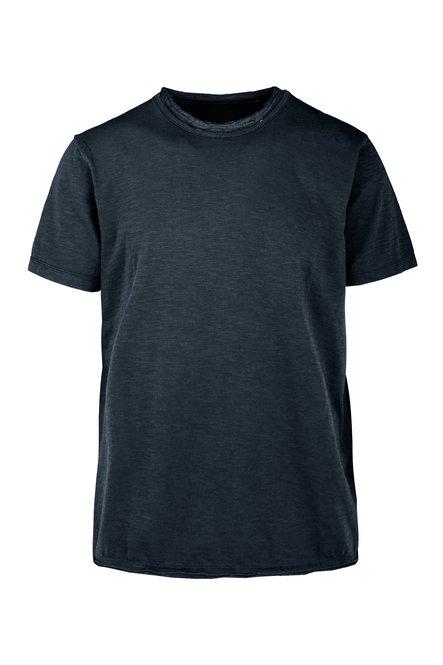 T-Shirt mit Doppelsaum