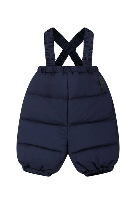 Baby overalls real down filling