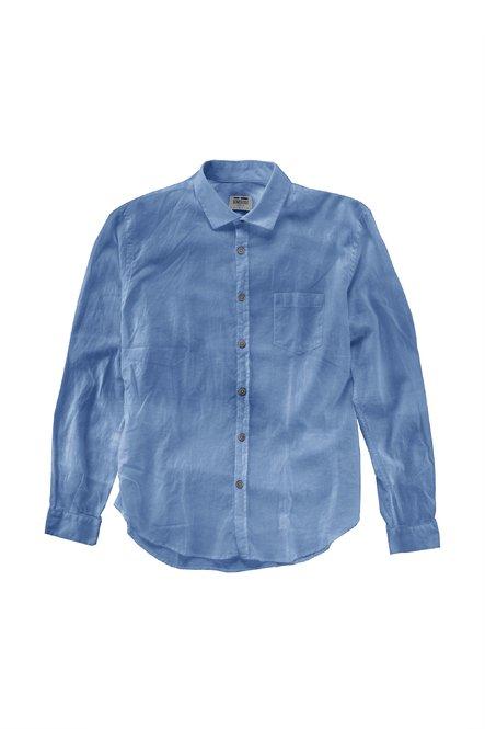 Baumwoll-Leinen Hemd