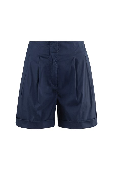 Shorts in sateen cotton