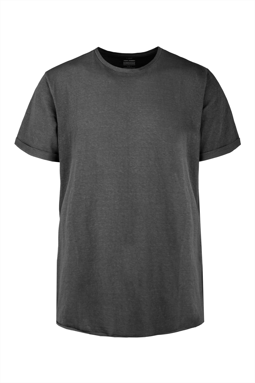 T-shirt in cotton-linen
