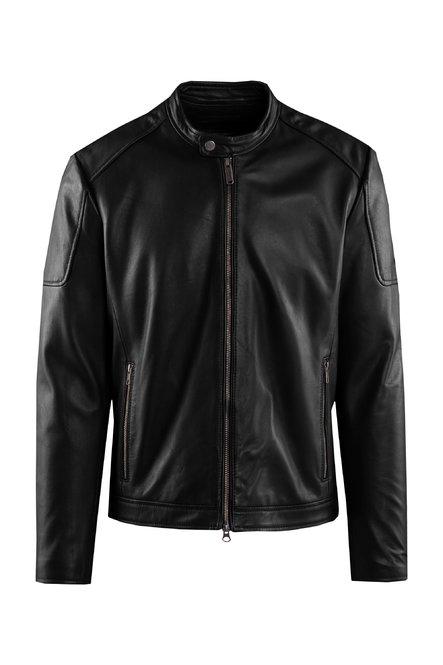 Clan leather jacket