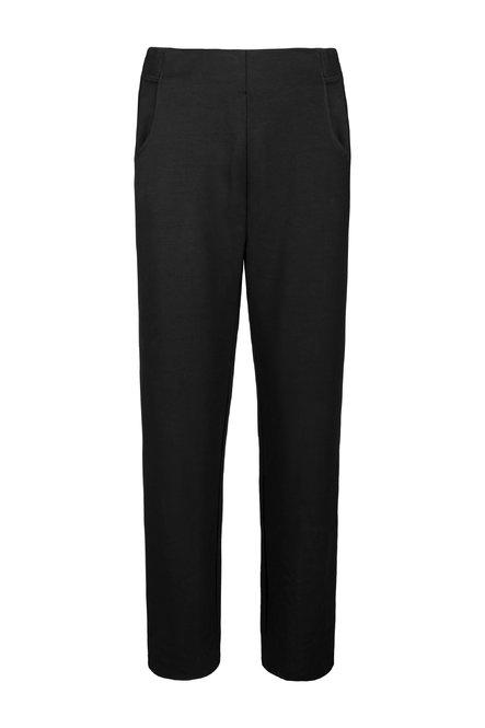 Fleece trousers with side tears