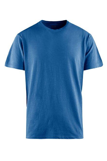 Slub- Baumwoll Jersey T-Shirt