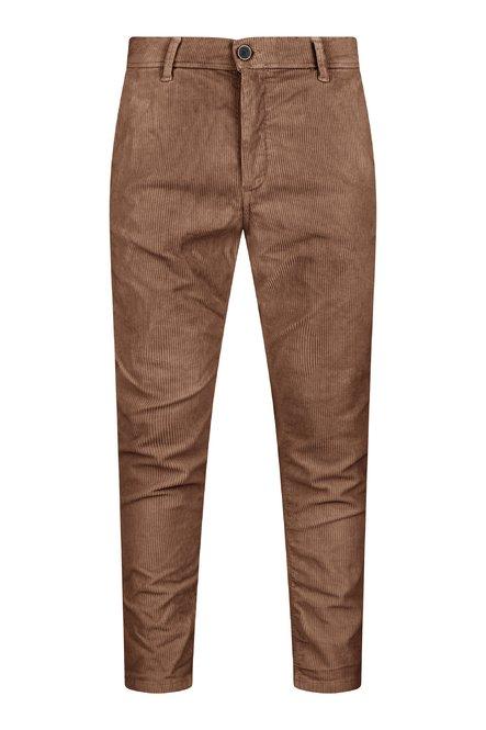 pantaloni Spy in Velluto Stretch a Coste