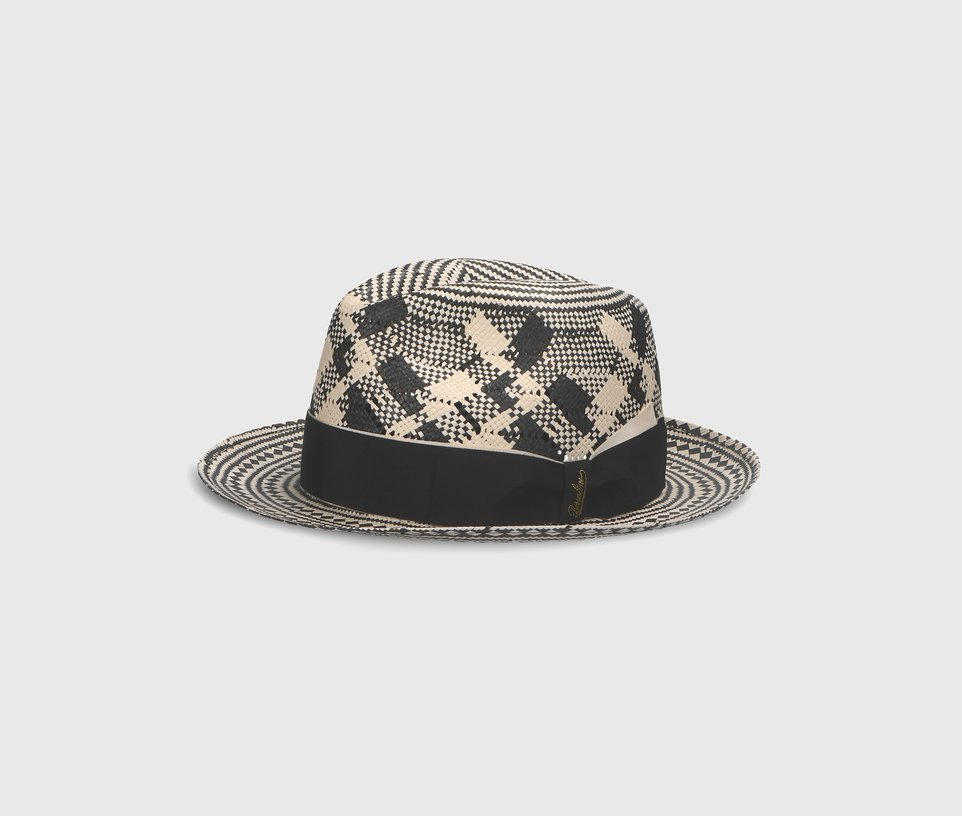 Papier pattern medium brim