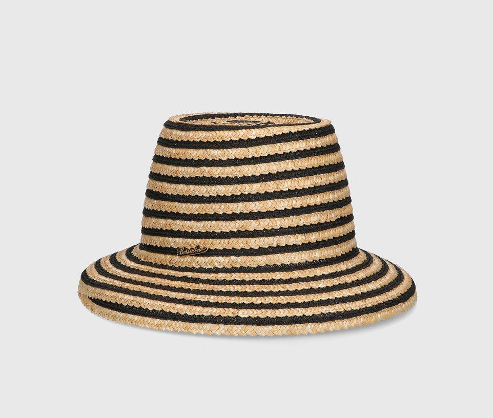"""""""Cloche"""" woven straw"""