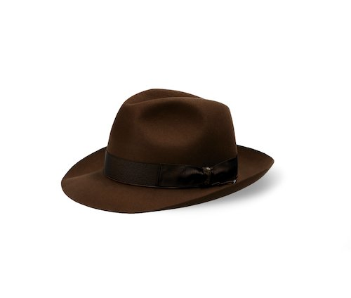 Beaver hat, medium brim