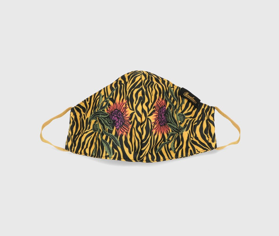 Zebra diamond mask