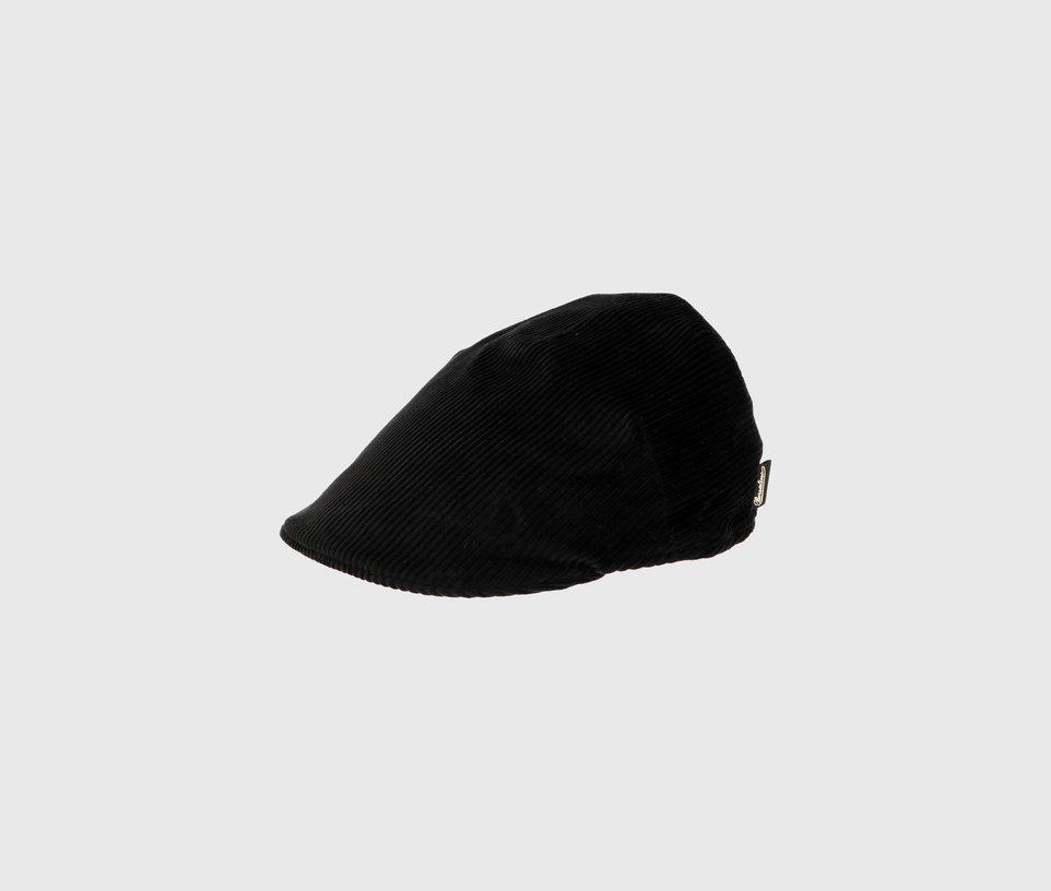 Black Flat Duckbill Style Cap