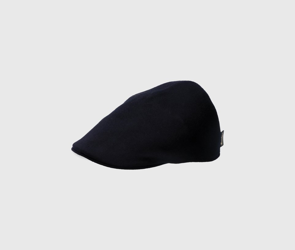 Cashmere Flat Duckbill Style Cap