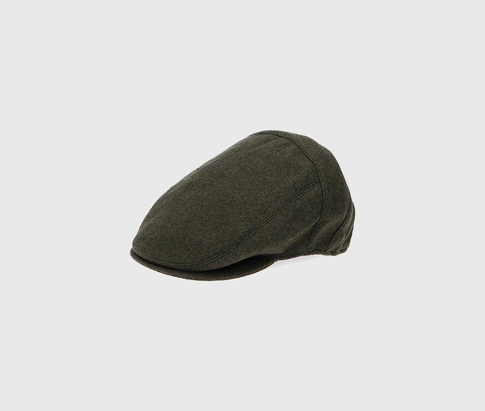 Green Flat Cap