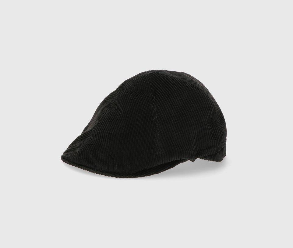 Corduroy flat cap