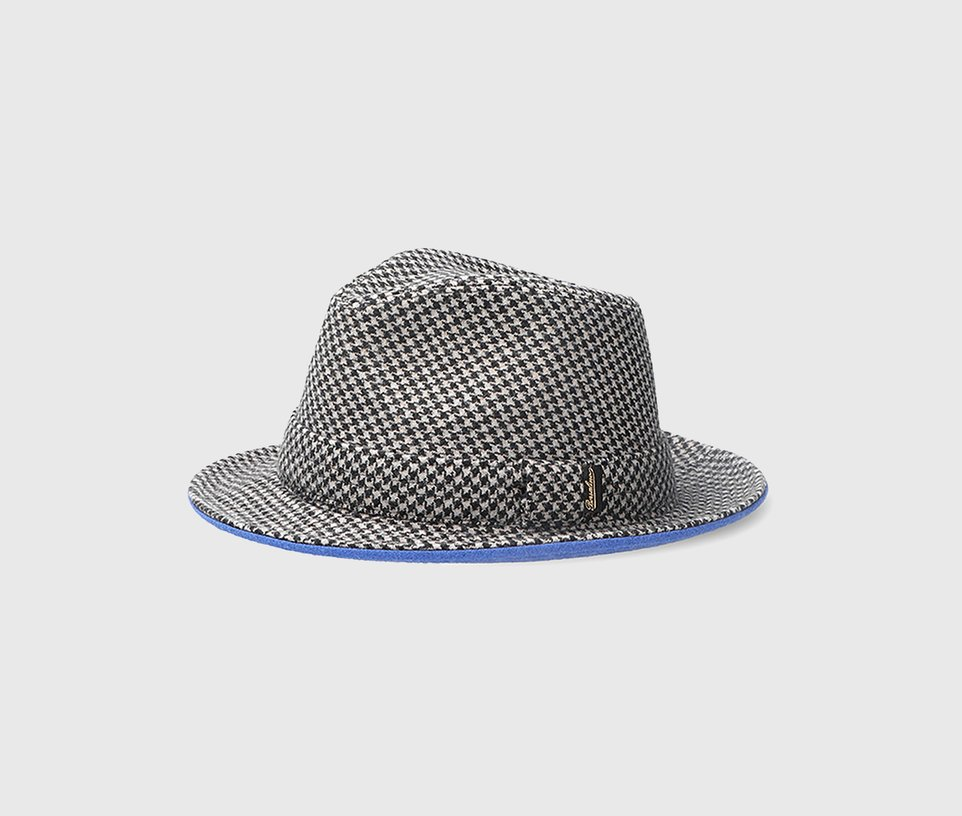 Medium-brim Fedora Wool