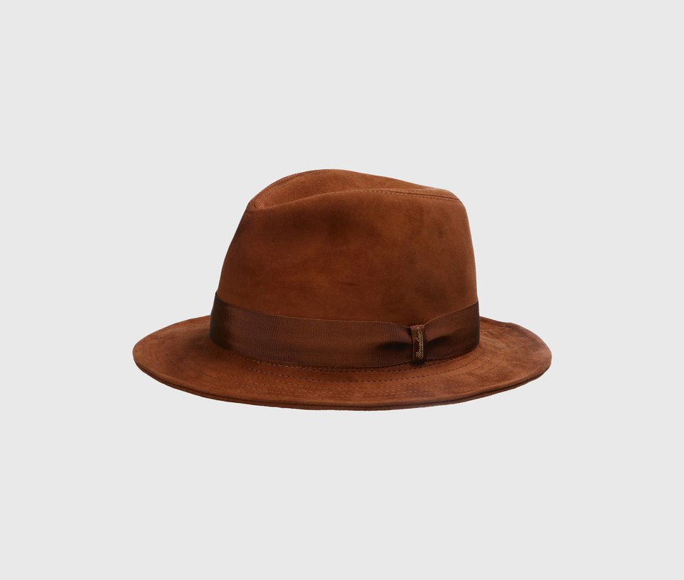 Trilby Suede Leather