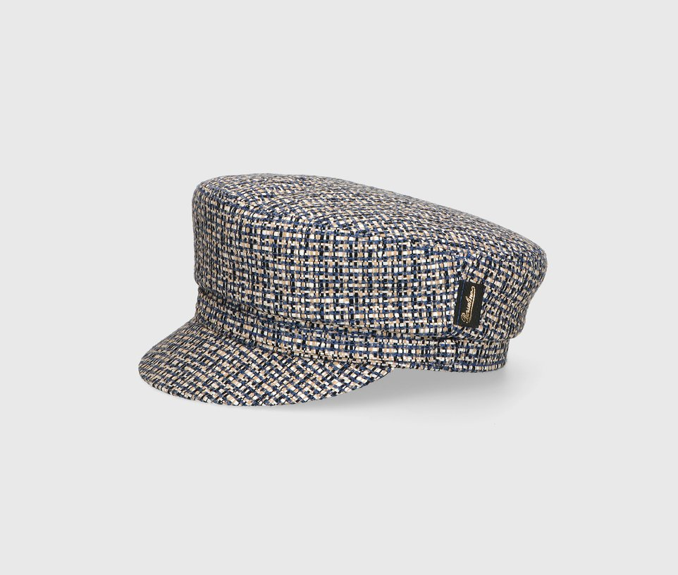 Patterned sailor cap