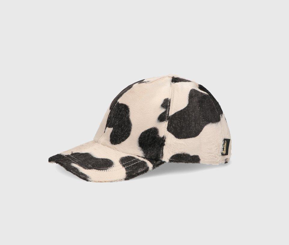 Cow pattern baseball cap