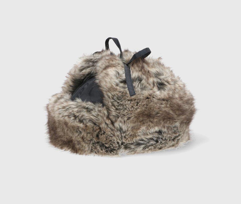 Waterproof faux fur aviator