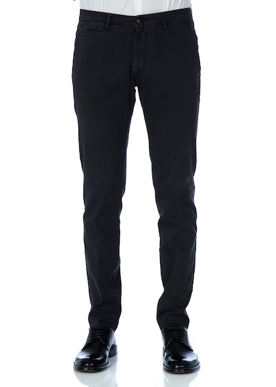 Gabardine comfort slash pocket trousers - Charcoal Grey