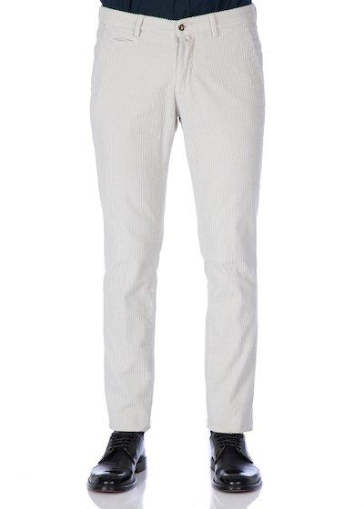 Corduroy velvet slash pocket trousers