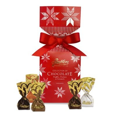 Butlers Yuletide Cracker with assorted individually wrapped Chocolates