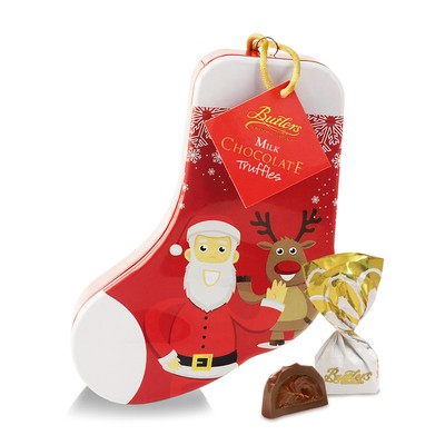 Christmas Stocking Tin